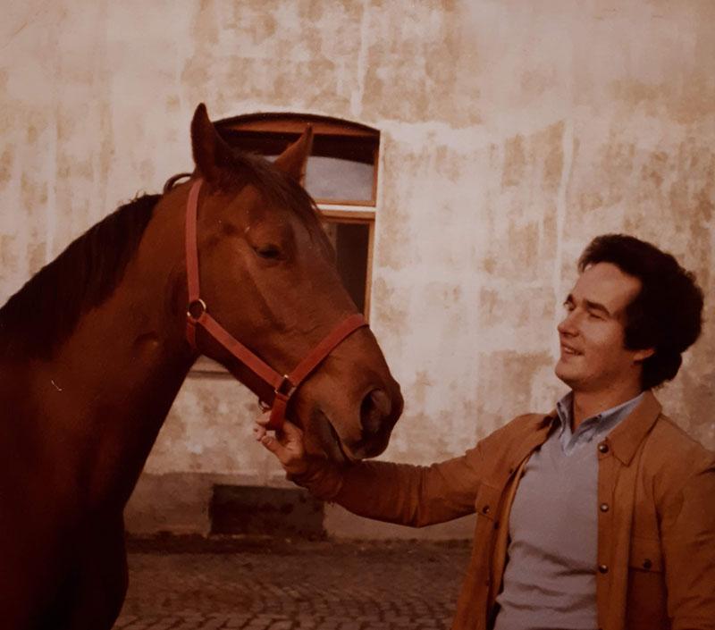 Klaus Kempe Pferd Janny